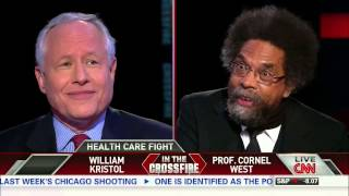 Crossfire: Cornel West and Bill Kristol on Obamacare (part 1/3)