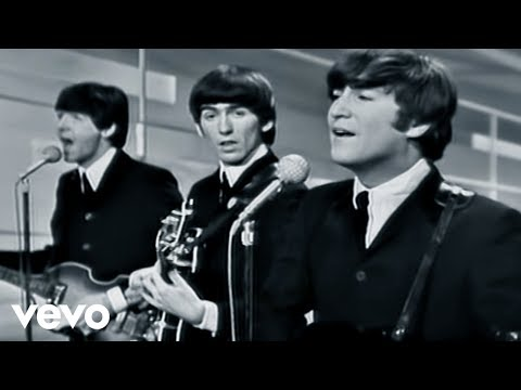 The Beatles - I Want To Hold Your Hand - Performed Live On The Ed Sullivan Show 2/9/64