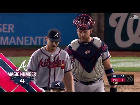 FastCast: Braves clinch playoff berth