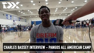 Charles Bassey Interview - Pangos All American Camp