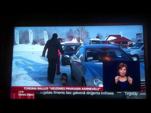 Tūrisma rallijs Vidzemes pavasara karnevāls LTV 1 Ziņas Spektrs TV (RIP)