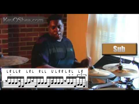 Best Drum Lesson | Aaron Spears Playing In 12/8 Transcription