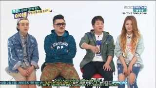 [ENGSUB] 140430 Weekly Idol (Beast Junhyung / Infinite Hoya) Quiz Cut