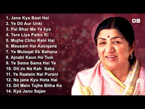 Best Evergreen Romantic Song   Lata Mangeshkar