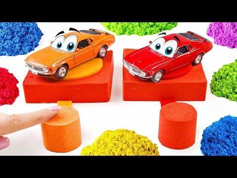 Learn Colours For Babies DIY (Creative Children Video)