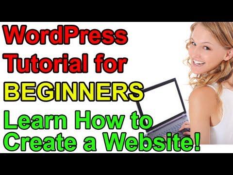 how to wordpress website tutorial