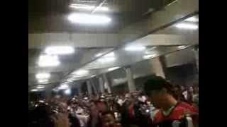 Torcida do Flamengo.