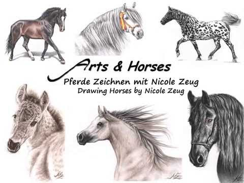 Pferde Zeichnen mit Nicole Zeug – Drawing Horses by Nicole Zeug