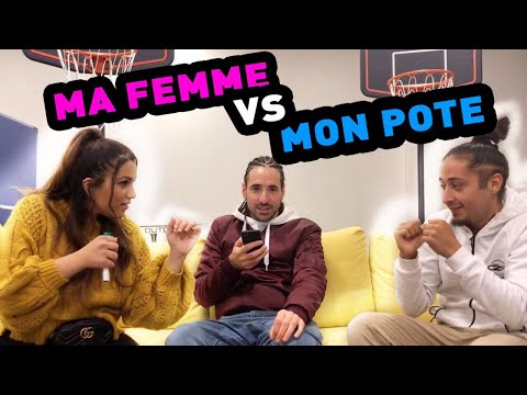 MA FEMME VS MON POTE ! TROP DROLE ! feat Andreas S3 FREESTYLE