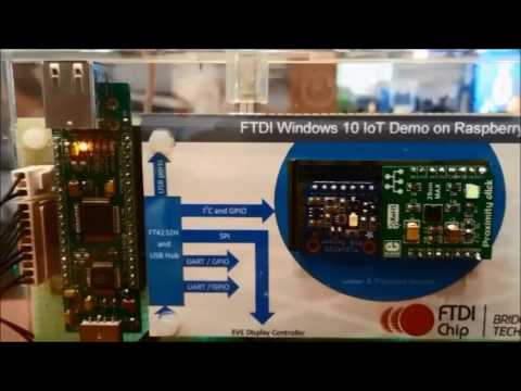 FTDI Windows 10 IOT Solution