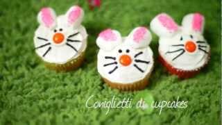 Videoricetta: cupcakes a coniglietti