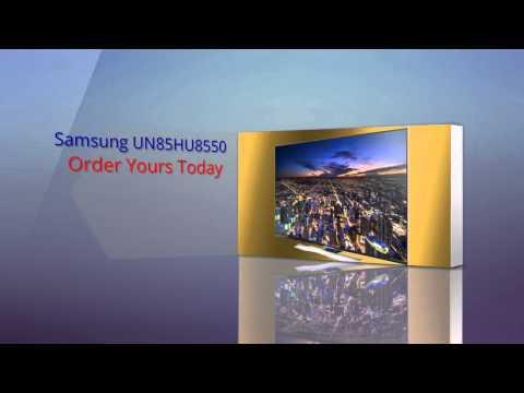 Samsung UN85HU8550 85 Inch 4K Ultra HD 120Hz 3D Smart LED TV
