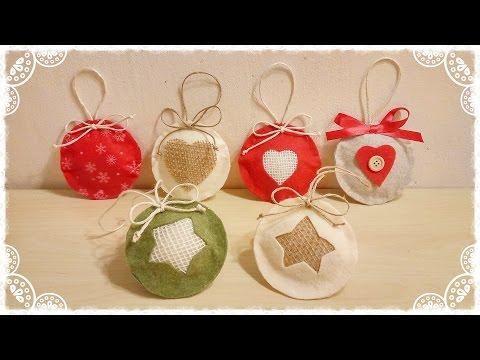 medaglioni natalizi in feltro - ecco come farli!