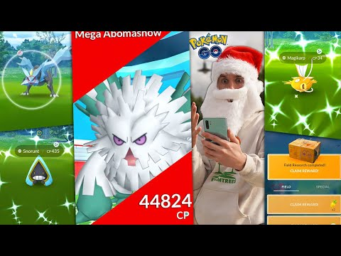 THE FINAL MONTH OF POKÉMON GO 2020 WILL BE HUGE! (December Events + Mega Abomasnow)
