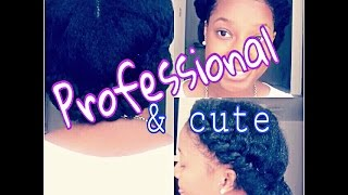 How To | Pretty Professional Protective Hairstyle