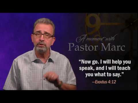 "A Moment with Pastor Marc #47<br /><strong>""Testing""</strong>"