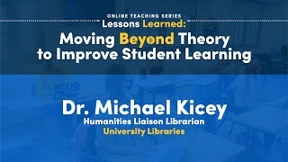 Faculty Presentation: Dr. Michael Kicey