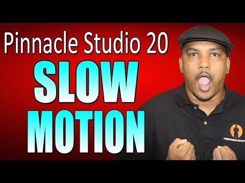 Pinnacle Studio 20 Ultimate | Slow Motion Tutorial