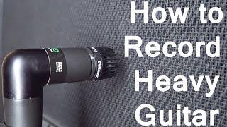 Video How to Record Heavy Guitar | SpectreSoundStudios TUTORIAL MP3, 3GP, MP4, WEBM, AVI, FLV Desember 2018