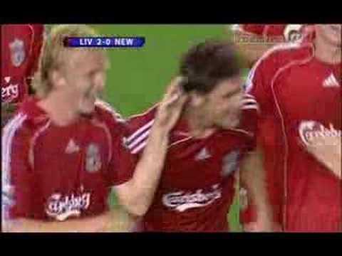 Un Maravilloso Gol de Xabi Alonso