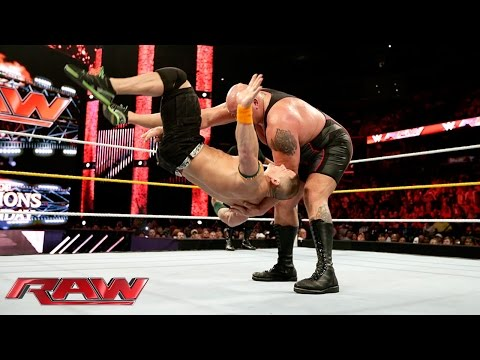 Video John Cena & Sting vs. Big Show & Seth Rollins: Raw, Sept. 14, 2015 download in MP3, 3GP, MP4, WEBM, AVI, FLV January 2017