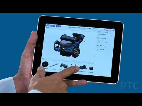 Arbortext 3D Service Information on iPAD - PTC