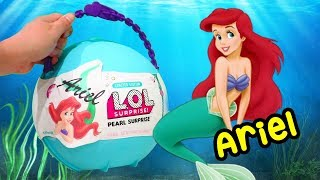 Video LOL Pearl Surprise CUSTOM Ball Ariel DIY ! Toys and Dolls Fun for Kids w/ The Little Mermaid | SWTAD MP3, 3GP, MP4, WEBM, AVI, FLV Januari 2019