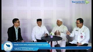 """Dialog: Peringatan Hari Damai Aceh ke-13 """"Dame Aceh Berlandaskan Syariat Islam"""" Bagian-2"""