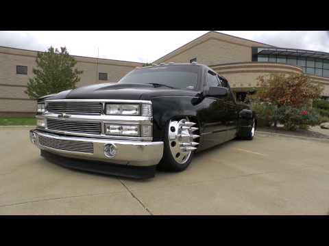 Bagged Chevy 3500 Dually - February 2013
