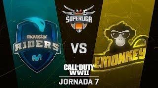 MOVISTAR RIDERS VS EMONKEYZ - SUPERLIGA ORANGE COD - JORNADA 7 - #SuperligaOrangeCOD7