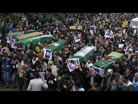 Αφγανιστάν: Μαζική διαδήλωση για τις δολοφονίες των Χαζάρα
