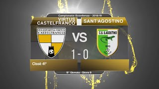 Dilettanti - Eccellenza: Virtus Castelfranco-Sant'Agostino 1-0, highlights e post partita