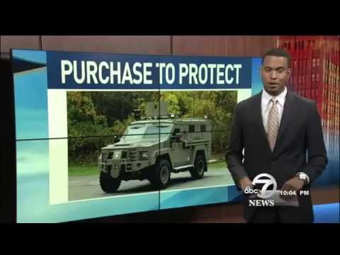Armored vehicle purchased to protect Randall County Sheriffs