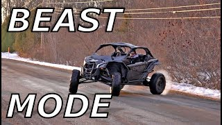 9. Maverick X3 Evo 3R tune 200hp test drive! ITS A MONSTER!