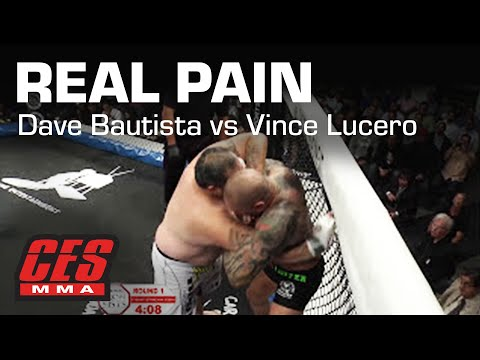 "CES MMA: PRESENTS ""REAL PAIN"" DAVE BAUTISTA Vs VINCE LUCERO"
