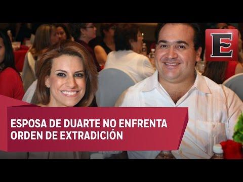 Esposa y familia de Duarte no son investigados: PGR