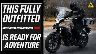10. Outfitting the Honda CB500x For Adventure/Commuting | TwistedThrottle.com