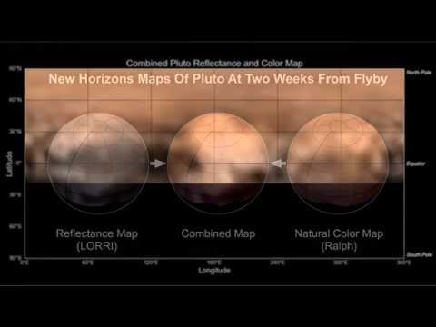New Map of Pluto Shows a Whale, Donut   Space Video