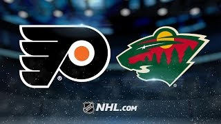 Read, Mason lead Flyers past Wild, 3-1 by NHL