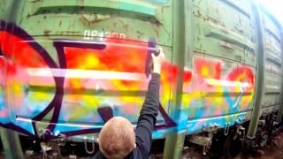 Video [NUGA] Graffiti bombing (Москва) MP3, 3GP, MP4, WEBM, AVI, FLV Desember 2017
