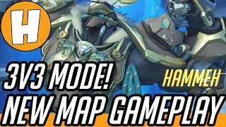 Overwatch has a new map on the PTR, as well as new game modes in the Arcade! Check out the new map, Eco Point Antarctica, and a 3v3 mode game on it...where I...
