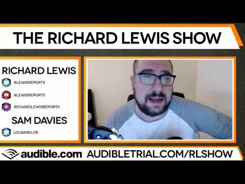 Richard Lewis talks about PEA, Reginald and Sean Gares
