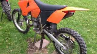 9. My 2003 KTM 250sx w/ full pro circuit exhaust