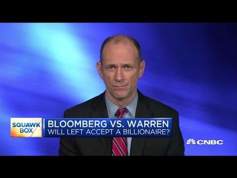 Austan Goolsbee: Warren will benefit from Bloomberg entering the race