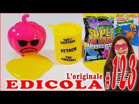 EDICOLA #123 Mangia-Sputa SLIME & Viscidol Super Attack Appiccicosi (by Giulia Guerra) (видео)