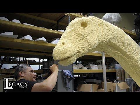 ¿Como se hace un dinosaurio para el mundo jurásico?