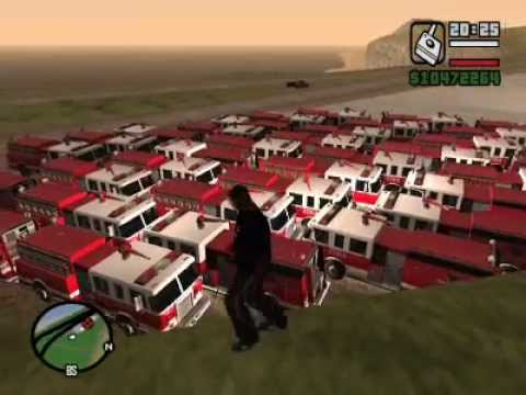 Gran explosion Gta San Andreas