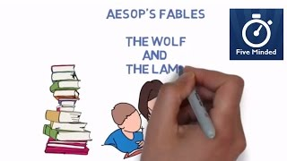 """The wolf and the lamb is a cklassic tale about bullying by Aesop. The tyrant can always find an excuse for his tyranny.Get the Aesop's Fables for Kids BOOK: http://amzn.to/2l0nMzjWhiteboard Software I use to make my Videos: http://www.sparkol.com?aid=983244Facebook: https://www.facebook.com/5ivemindedTwitter: https://twitter.com/fiveminded-~-~~-~~~-~~-~-Please watch: """"The History of Earth Day - Animated Narration for Kids"""" https://www.youtube.com/watch?v=b6LUaGy1ChA-~-~~-~~~-~~-~-"""