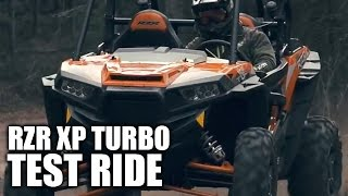 8. TEST RIDE: 2016 Polaris RZR XP Turbo
