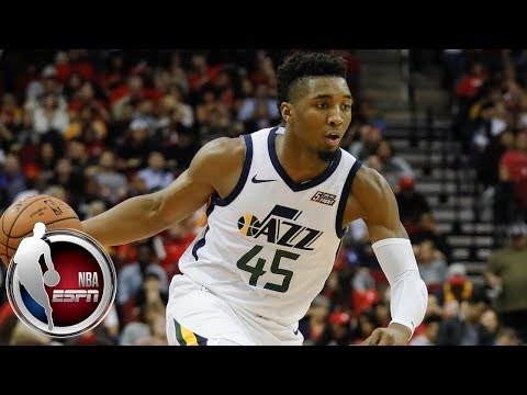 Video: Donovan Mitchell's 38 points lead Jazz to big win over Rockets | NBA on ESPN